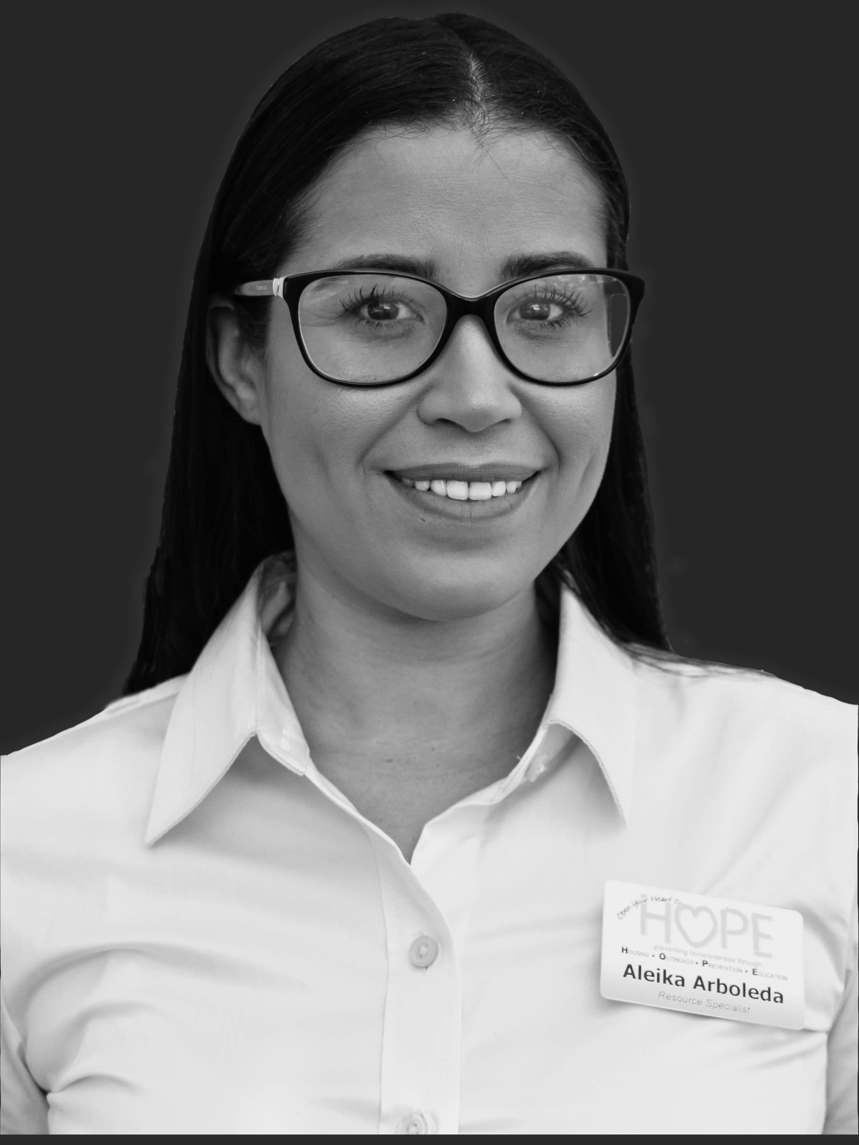Aleika Arboleda, Case Manager