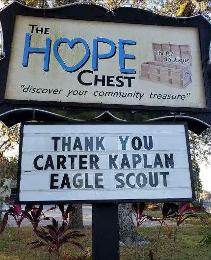 Eagle Scout Project: Carter Kaplan