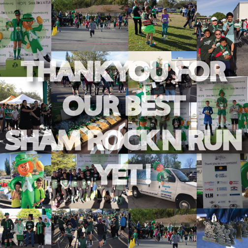 7th Annual Sham Rock 'N Run a HUGE Success