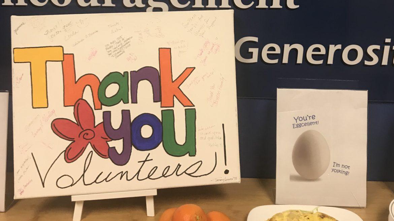 Volunteer Appreciation Week 2018