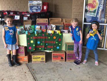 Volunteer Spotlight: Girl Scout Troop 1956