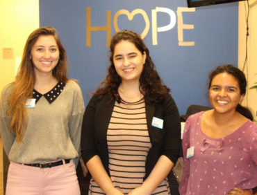HOPE Welcomes Three New Interns