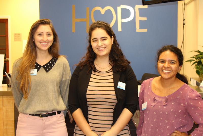 HOPE Welcomes Three New Interns
