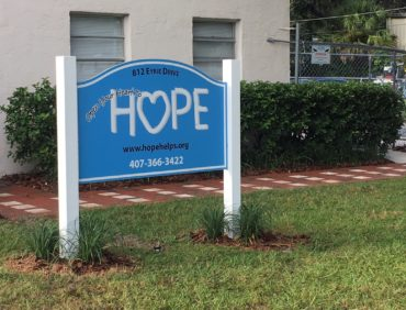 A Home for HOPE Donor Walkway Revealed