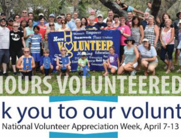 National Volunteer Appreciation Week