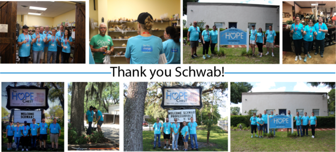 Volunteer Spotlight: Charles Schwab